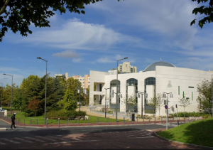 paříž mešit